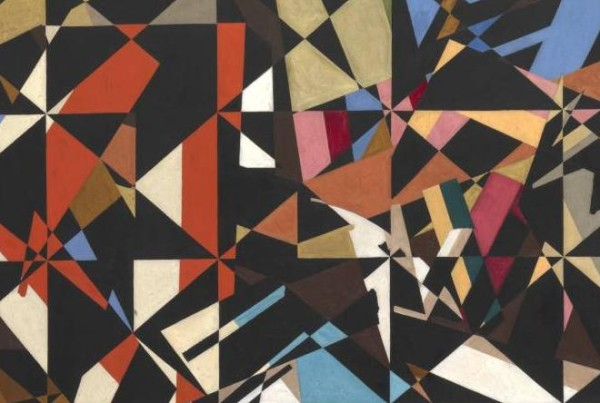 In the Hold circa 1913-4 by David Bomberg 1890-1957