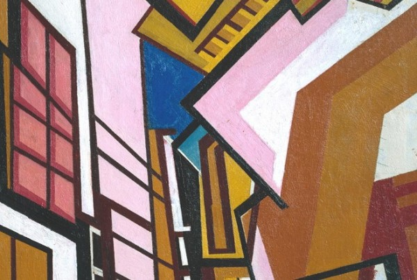 Workshop c.1914-5 by Wyndham Lewis 1882-1957